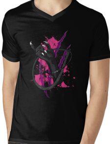 The Cat Mens V-Neck T-Shirt
