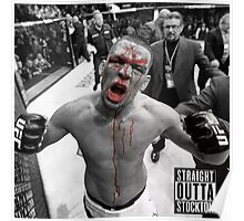Nate Diaz UFC Fight Poster
