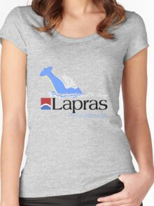 Lapras Cruise Line Women's Fitted Scoop T-Shirt