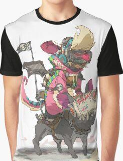 FURY BEATS - Trebble Slash Graphic T-Shirt