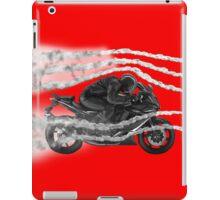 Avoid traffic jam iPad Case/Skin