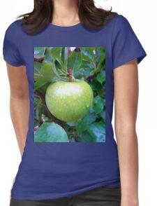 Green Apple Womens Fitted T-Shirt