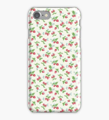 Strawberry Kitsch Vintage Cute Pattern Cath Kidston iPhone Case/Skin