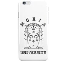 J. R. R. Tolkien - The Lord Of The Rings - Moria University iPhone Case/Skin