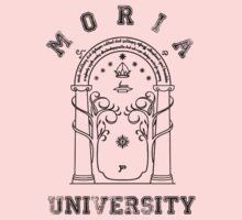 J. R. R. Tolkien - The Lord Of The Rings - Moria University One Piece - Short Sleeve