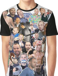 "James ""Murr"" Murray collage (Graphic Tee) Graphic T-Shirt"