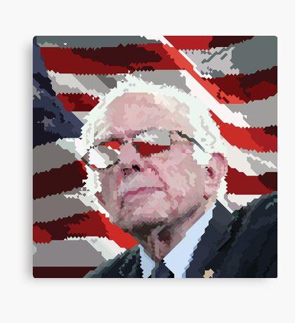 Bernie Eyes for America Canvas Print