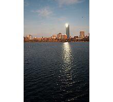 Boston waterfront Photographic Print