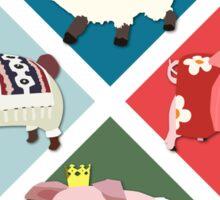 Monster Hunter Generations - 4 Villages Sticker