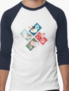 Monster Hunter Generations - 4 Villages Men's Baseball ¾ T-Shirt