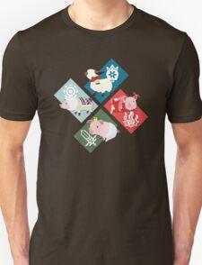 Monster Hunter Generations - 4 Villages T-Shirt