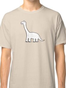 Cartoon Brachiosaurus Classic T-Shirt