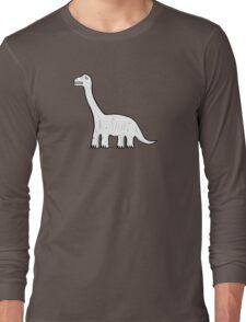 Cartoon Brachiosaurus Long Sleeve T-Shirt