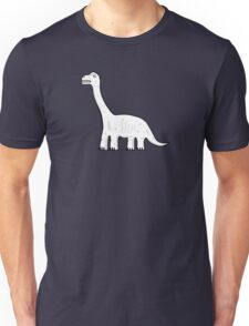 Cartoon Brachiosaurus Unisex T-Shirt