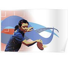 Ping Pong / Table Tennis Poster
