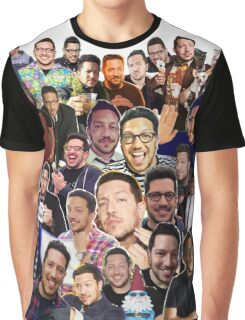 Sal Vulcano collage (Graphic Tee) Graphic T-Shirt