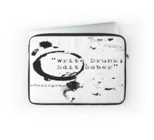 Hemingway Writer's Quote Laptop Sleeve