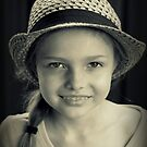 Girl With Hat by Evita
