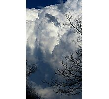 Sky - epic cloud fluff (2016) Photographic Print