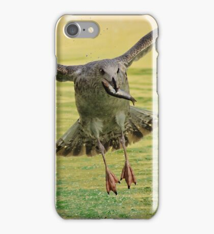 Early Bird gets the fish iPhone Case/Skin