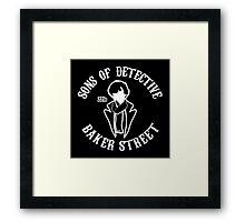 Sons of detective baker street Framed Print