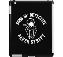 Sons of detective baker street iPad Case/Skin