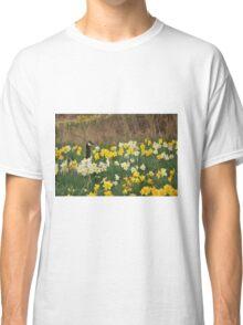 A Goose in the Garden II Classic T-Shirt