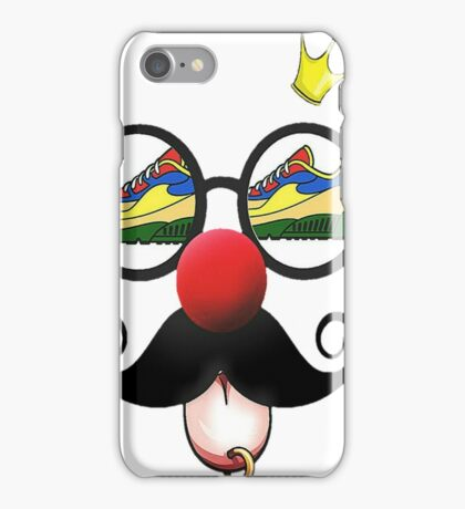 sneaker nerd iPhone Case/Skin