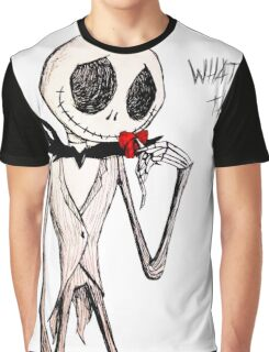 What's This? --- Jack Skelington Graphic T-Shirt