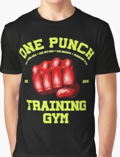 One Punch Training Gym Graphic T-Shirt