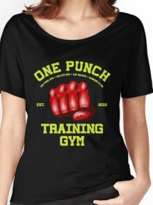 One Punch Training Gym Women's Relaxed Fit T-Shirt