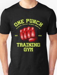One Punch Training Gym Unisex T-Shirt
