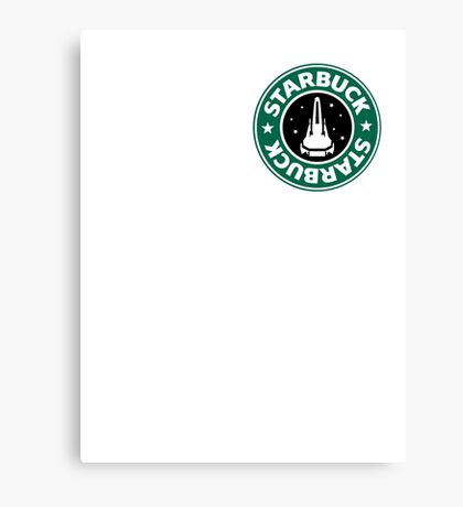 Starbuck hold the S Canvas Print
