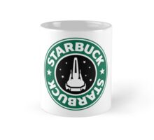 Starbuck hold the S Mug