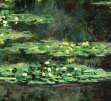 Claude Monet - Water-Lilies  Sticker