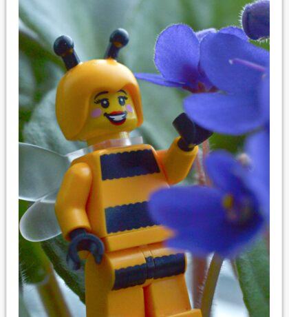 Collecting Nectar Sticker