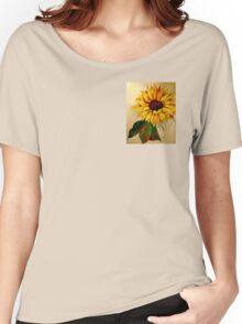 Sunflower Flames Women's Relaxed Fit T-Shirt