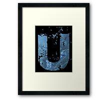 Uncharted 2 U Framed Print