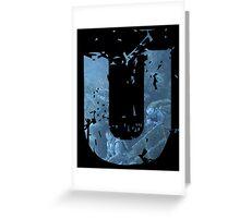 Uncharted 2 U Greeting Card