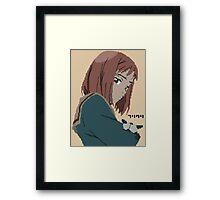 FLCL Mamimi pixelart Framed Print