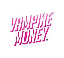 Vampire Money Photographic Print
