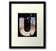 Uncharted 3 U Framed Print