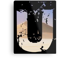 Uncharted 3 U Metal Print