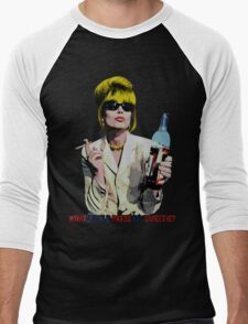 What Would Patsy Do, Sweetie? Men's Baseball ¾ T-Shirt