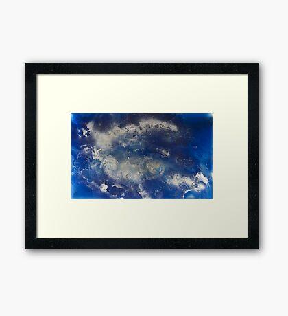 Clouds vs. Sky Framed Print
