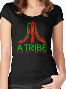 Atari Called Quest Women's Fitted Scoop T-Shirt