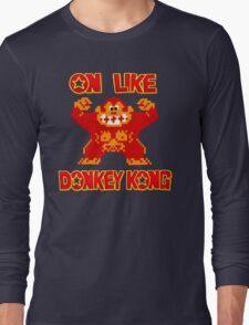 On Like Donkey Kong Long Sleeve T-Shirt