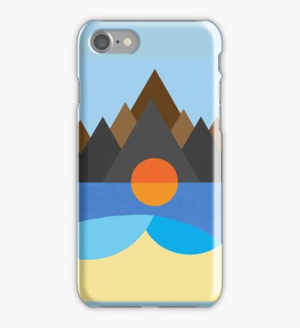 Kauai/STN MTN Cover Design iPhone Case/Skin