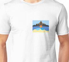 Kauai/STN MTN Cover Design Unisex T-Shirt