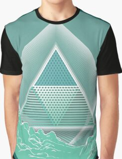 Skyview Mint Graphic T-Shirt